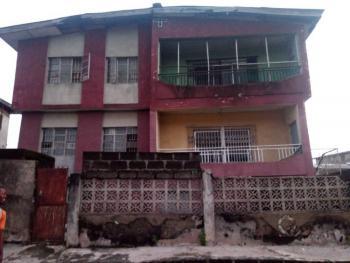 Redevelopable Block of 4 Nos 3 Bedroom Flats with 3 Bedroom Bungalow Bq, Oluobafemi Street Off Onijemo Street Via Haruna/ Obawole Road, Ifako, Agege, Lagos, Block of Flats for Sale