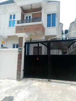 Brand New 4 Bedroom Semi-detached Duplex with Bq, Lekki County Estate Beside Ikota Villa, Lekki, Lagos, Flat for Rent
