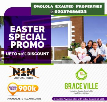 Grace Ville Estate, Along Dangote Refinery Road, Ikegun, Ibeju Lekki, Lagos, Residential Land for Sale