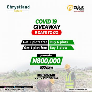 Chrystland Estate, Buy 6plots and Get 2plots Free., Alaro City, Epe, Lagos, Residential Land for Sale