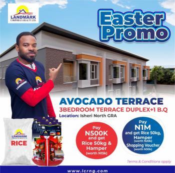 Avocado Terraces, Inside Queens Garden, Riverview Estate., Gra, Isheri North, Lagos, Terraced Duplex for Sale