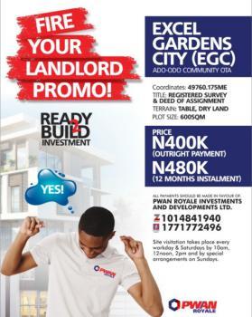 Land For Sale In Ado Odo Ota Ogun 131 Available