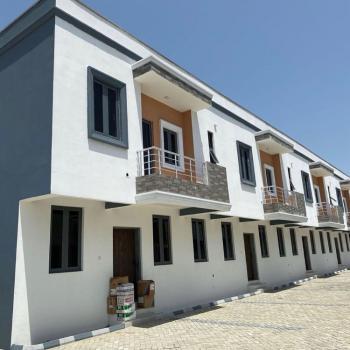 Exotic 3 Bedroom Terraced Duplex with Bq, Chevron, Before Vgc, Ibeju Lekki, Lagos, Terraced Duplex for Sale