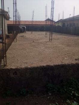 Half Plot with Upstairs Foundation, Elepe, Off Ijede Road., Ikorodu, Lagos, Residential Land for Sale