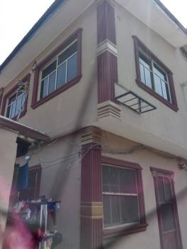 2 Bedroom Flat Upstairs with Water Supply & Park Space, Emmanuel Street Via Adetola, Aguda, Surulere, Lagos, Flat for Rent