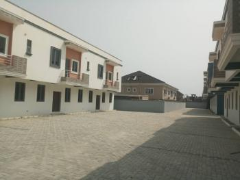 Exotically 3 Bedroom Terraced Duplex with Bq, Orchid Road, After Chevron Toll Gate  Before Vgc, Lafiaji Community, Lekki, Lagos, Terraced Duplex for Sale
