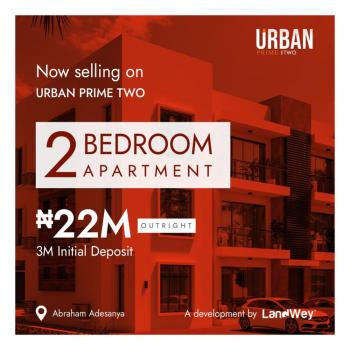 Luxury and Classy Two Bedroom Apartment with Flexible Payment Scheme, Ogbombo Road, Off Abraham Adesanya, Lekki, Lagos, Flat for Sale