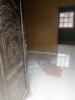 Room Self-contained with Tiles Moderate Space, Via Mobil Filling Station, Aguda, Surulere, Lagos, Self Contained (single Rooms) for Rent