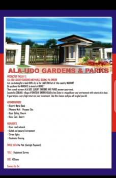 Dry Land, Ogbaku Village,along Imo Onitsha Road., Industrial Layout, Owerri, Imo, Mixed-use Land for Sale