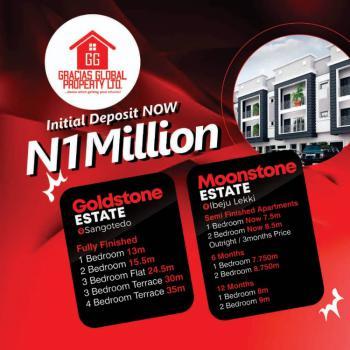 2 Bedroom Apartment - Gracias Goldstone, Gracias Goldstone Residences, Sangotedo, Ajah, Lagos, Flat for Sale