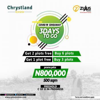 Chrysland Estate, Otedolas Estate Area., Epe, Lagos, Residential Land for Sale