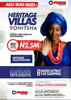 Affordable Estate Lands in Fast Developing Areas, Opposite Electrical International Market, Obosi, Along Onisha/ Owerri., Idemili, Anambra, Mixed-use Land for Sale
