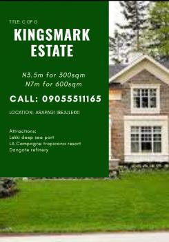 Kingsmark Estate, Facing The Coastal Line Along The Free Trade Zone Road, Ibeju Lekki, Lagos, Land for Sale