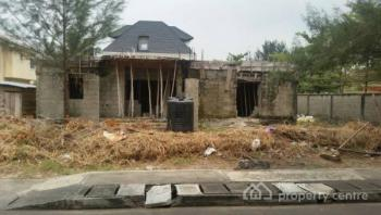 820sqm of Land with Uncompleted Duplex, Carlton Gate Estate, Off Chevron Drive, Lekki, Lagos, Residential Land for Sale