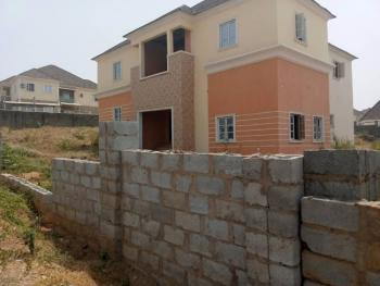 Fully Detached 5 Bedroom Carcass Duplex on 1200sqm Land, Naf Valley Estate, Asokoro District, Abuja, Detached Duplex for Sale