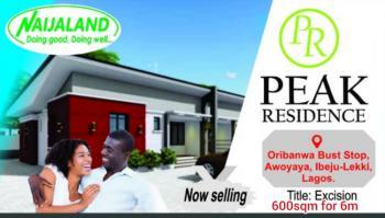 Land, Peak Residence, Oribanwa, Ibeju Lekki, Lagos, Mixed-use Land for Sale