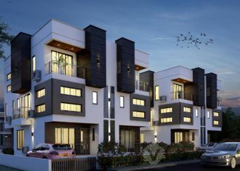Beautiful Luxury Four Bedroom Duplex (two Storey Semi-detached Building), Peninsula Estate (behind Blenco Mega Mart) Lekki, Sangotedo, Ajah, Lagos, Semi-detached Duplex for Sale