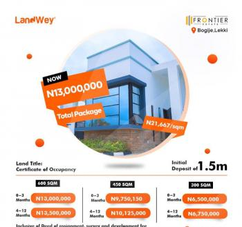 Dry Land with a Title, C of O, Frontier Estate Bogije, Lekki, Lagos, Residential Land for Sale