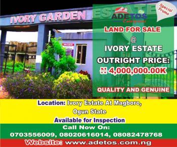 Land, Ivory Estate, Magboro, Ogun, Residential Land for Sale