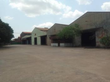 8 Bay Warehouse on 40,000 Sqm, Acme Road, Ogba, Ikeja, Lagos, Warehouse for Sale