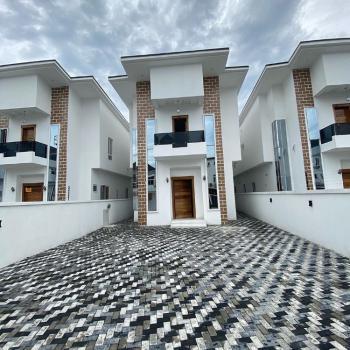 Brand New 5 Bedroom Detached + Bq, Osapa, Lekki, Lagos, Detached Bungalow for Sale