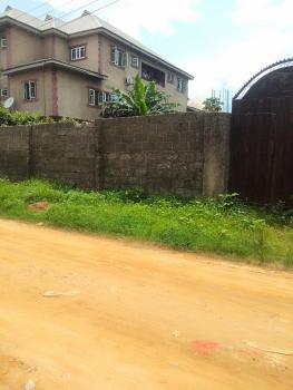 Fenced 1 Plot of Land in a Gated Street, New Road Ada George, Port Harcourt, Rivers, Residential Land for Sale
