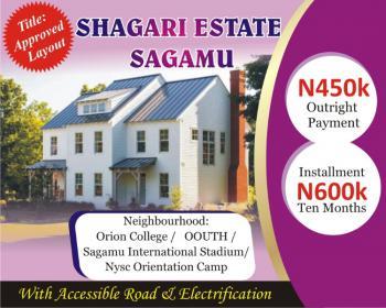 Low Cost Land, Shagari Estate, Sagamu, Ogun, Residential Land for Sale