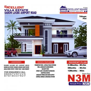 Plots of Land, Beside Leisure Court Estate Aco, Sabon Lugbe, Lugbe District, Abuja, Residential Land for Sale