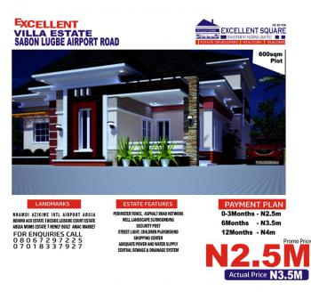 Land, Beside Leisure Court Estate By Aco, Sabon Lugbe, Lugbe District, Abuja, Residential Land for Sale