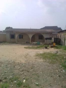 Uncompleted/demolishable Building, Ahmadiya Bus Stop, Abule Egba, Abule Egba, Agege, Lagos, Residential Land for Sale