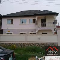 5 Bedroom(fully Detached) Duplex With A Room Boys Quarters, Ikota Villa Estate, Lekki, Lagos, 5 Bedroom, 6 Toilets, 5 Baths House For Rent