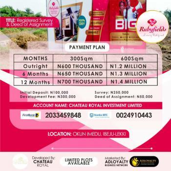 Rubyfields Lands, Good and Affordable Lands to Build Your Dream House, Okun Imedu, Ibeju Lekki, Lagos, Commercial Land for Sale