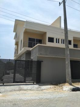 Townhouse 5 Bedroom with Bq, 2 Living Room and Water View, Atlantic View Estate, New Road, Igbo Efon, Lekki, Lagos, Semi-detached Duplex for Rent