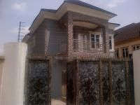 5 Bedroom Detached Duplex(all En-suite) With Cctv, Intercom, Jacuzzi, Air Conditioners, Fitted Kitchen, Laundry Space, Family Lounge, Ante Room And 2 Room Boys Quarters, Omole Phase 1, Ikeja, Lagos, 5 Bedroom, 6 Toilets, 5 Baths House For Sale