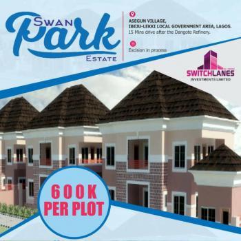 Swan Park Estate, 15 Mins Drive From Dangote Refinery, Asegun, Ibeju Lekki, Lagos, Mixed-use Land for Sale