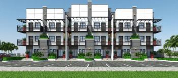 Luxurious 4 Bedrooms Terrace Triplex with Bq in a Serene Mini Estate, Opposite Ncdc Laboratory, Gaduwa, Abuja, Terraced Duplex for Sale