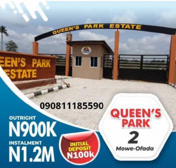 Estate Land, Mowe Ofada, Ogun, Residential Land for Sale