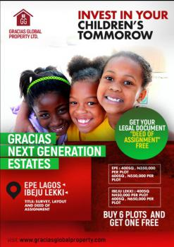 Gracias Next Generation Estate, Mafogunde, Ibeju Lekki, Lagos, Mixed-use Land for Sale