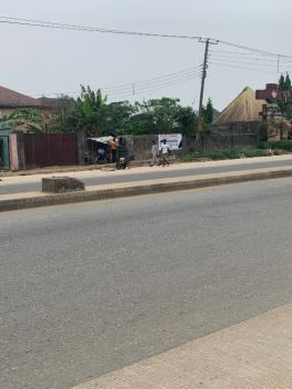 a Fenced Parcel of Land, Along Port Harcourt International Airport Road, Rukpokwu, Port Harcourt, Rivers, Commercial Land for Sale