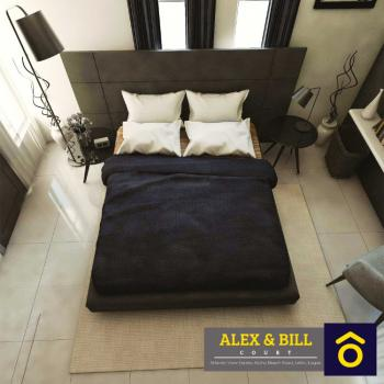 Luxury 4 Bedrooms Terrace, Atlantic View Estate, Igbo Efon, Lekki, Lagos, Terraced Duplex for Sale