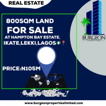 800 Square Meter of Land, Ikate Elegushi, Lekki, Lagos, Residential Land for Sale