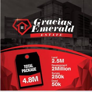 600 Square Metres of Land, Gracias Emerald Estate, Abijo, Lekki, Lagos, Mixed-use Land for Sale