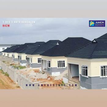 Luxury 3 Bedroom Detached Bungalow +spacious Compound in Serene Estate, Eleko, Ibeju Lekki, Lagos, Detached Bungalow for Sale