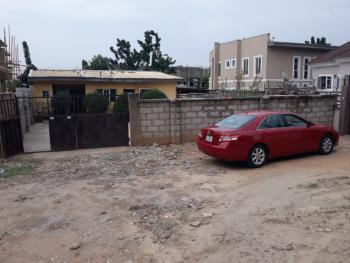 Old Demolishable 3 Bedrooms Bungalow with Ample Space at The Rear, Off Michael Okpara Way, Zone 7, Wuse, Abuja, Detached Bungalow for Sale