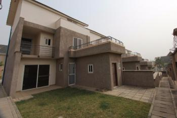 4 Units of Serviced 3 Bedrooms Terraced Duplex with a Maids Room, Off Lake Chad, Maitama District, Abuja, Terraced Duplex for Rent