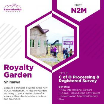 Modern and Secured Estate Dry Land, Royalty Garden, Simawa, Ogun, Residential Land for Sale