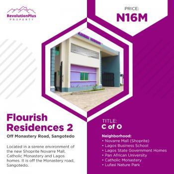 Modern Titled Estate Land, Flourish Residences 2, Sangotedo, Ajah, Lagos, Residential Land for Sale