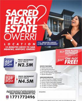 Estate Land, Ulakwo on The Aba Owerri Expressway Before The Airport, New Owerri, Owerri, Imo, Residential Land for Sale