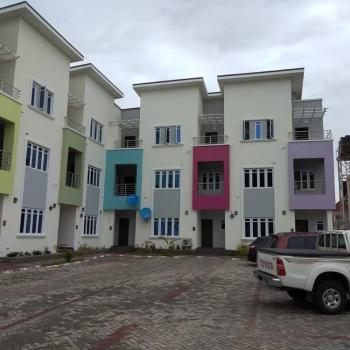 Brand New & Exotic 4 Bedroom Terraced Duplex with Bq, Guzape District, Abuja, House for Sale