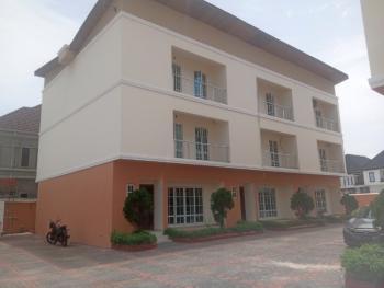 Luxury 4 Bedroom Terraced Duplex with Bq, Chevy View Estate Chevron, Lekki, Lagos, Terraced Duplex for Rent